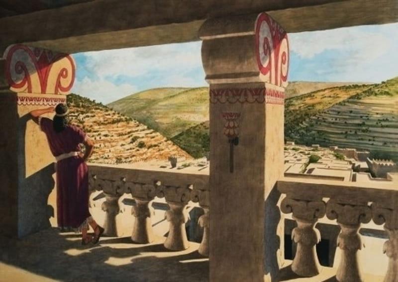 The wife of Uriah (Bathsheba)